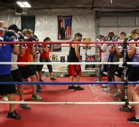 Wolfpack boxing classes